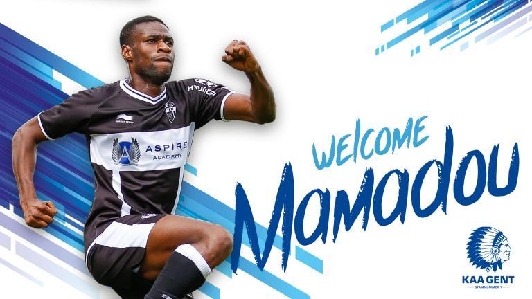 Afbeeldingsresultaten voor mamadou sylla kaa gent